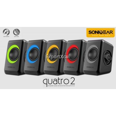 SonicGear Quatro 2 USB Speaker